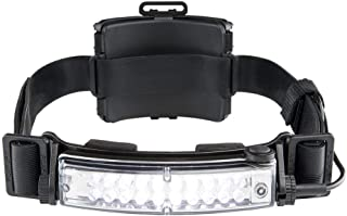 FoxFury 420-T09 Command+ Tilt Fire and Impact Resistant Waterproof White LED Headlamp/Helmet Light, 100 Lumens