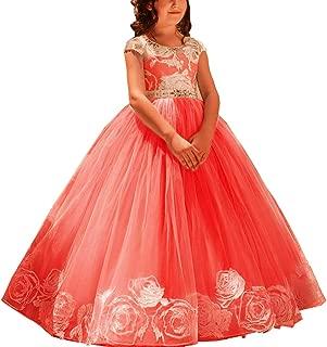 girls floor length dress