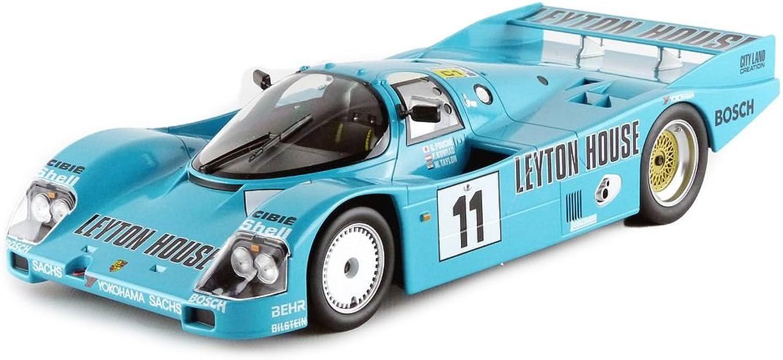 Las ventas en línea ahorran un 70%. Norev 187405 Porsche 962C Le Mans 1987 Leyton House Escala Escala Escala 1 18 Turquesa  a la venta