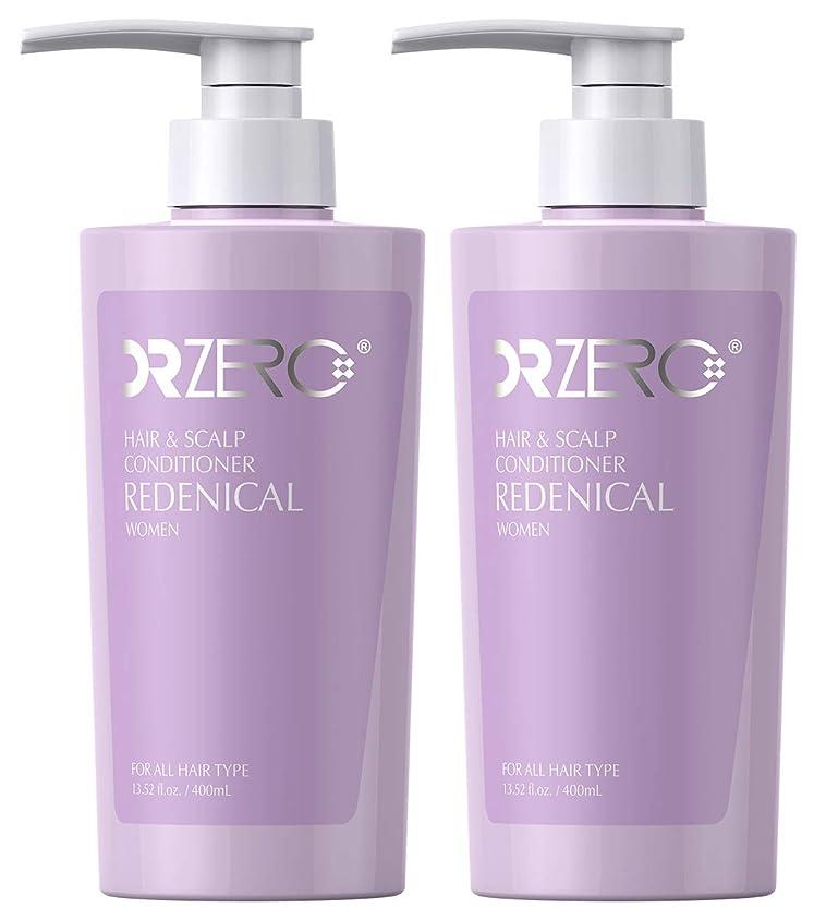 ありふれた香り水分ドクターゼロ リデニカル ヘア&スカルプコンディショナー 女性用 400ml 2本
