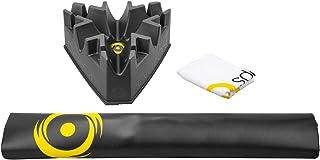 Saris CycleOps Complete Accessory Kit with Bike Mat, Climbing Block & Towel, Black