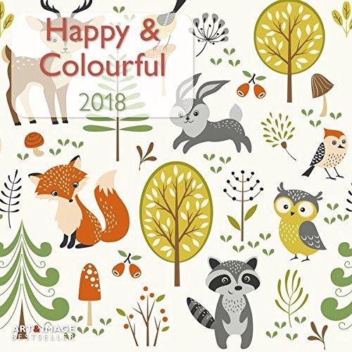 Happy & Colourful 2018: A&I Broschürenkalender