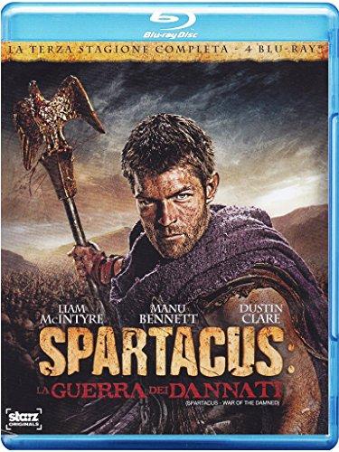 Spartacus la Guerra dei Dannati (4 Blu Ray) [Italia] [Blu-ray]