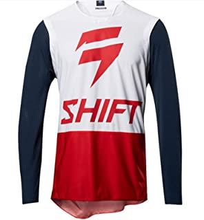 Men Downhill Jersey Motocross Long Sleeve Moto Jersey Cycling Clothing Motocross Racing Downhill Jersey SYXMSM (Color : 1...