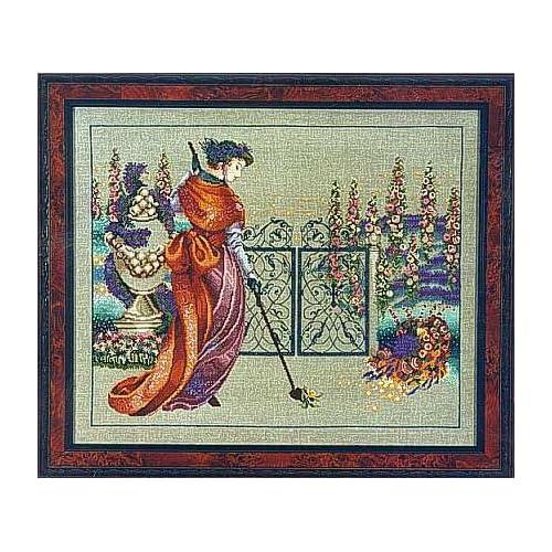 Nora Corbett Cross Stitch Patterns: Amazon com