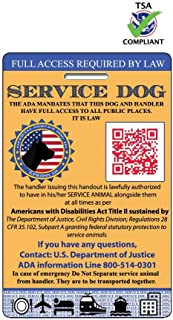 ada registration for service dogs