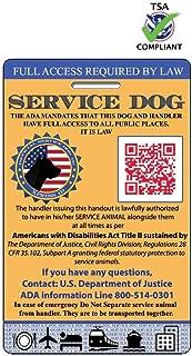 Best service animal supplies Reviews