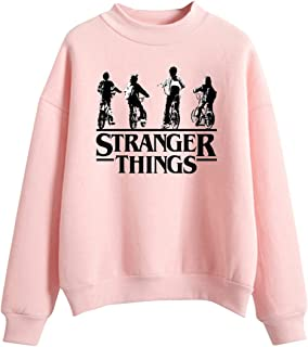 KIACIYA Sudadera Stranger Things Niña, Sudadera Stranger Things 3 Adolescente Chicas Sudadera Stranger Things Sin Capucha ...