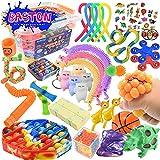 BASTON 36-Piece Fidget Toy Set - Bulk Pack of...