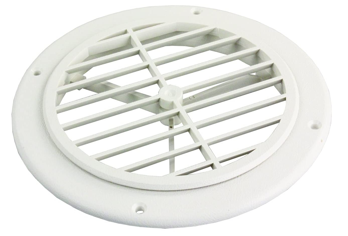 JR Products GRILL2-A Polar White Ceiling Grill