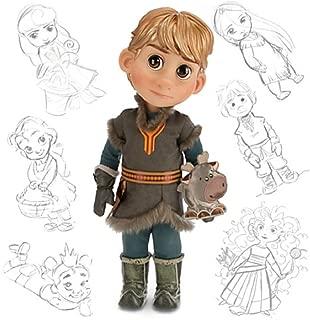 Disney Animators Collection Frozen Kristoff Doll with Sven 16