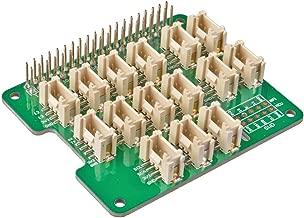 Seeed Studio Grove Base Hat Support Raspberry 2/3 B/B+ Zero Build-in MCU STM32 12-bit 8-Channel ADC with Analog/PWM/Digital/Analog/I2C/UART/SWD Grove Port 3.3V
