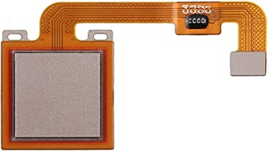 Smartphone Repair Accessories Fingerprint Sensor Flex Cable, Repair Part Replacement for Redmi Note 4X (Color : Gold)