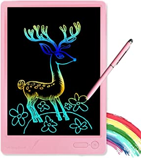 KURATU Girl Toys for 3-12 Year Old Girls Gifts,Colorful LCD Writing Tablet 10 Inch Doodle Board, Electronic Drawing Tablet...