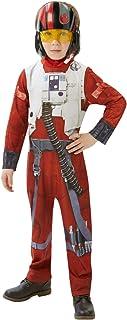 Rubie's Officiële Star Wars Poe X-Wing Fighter Classic, Kinderkostuum - Groot (7-8 jaar)