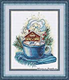 LIUSHENGJI Cross Stitch Set Cross-Stitch Kit Embroidery Needlework Craft Package Cotton Fabric Floss Homfun Painting Animal Crossing (Color : ZZ1000, Cross Stitch Fabric CT Number : 18CT)
