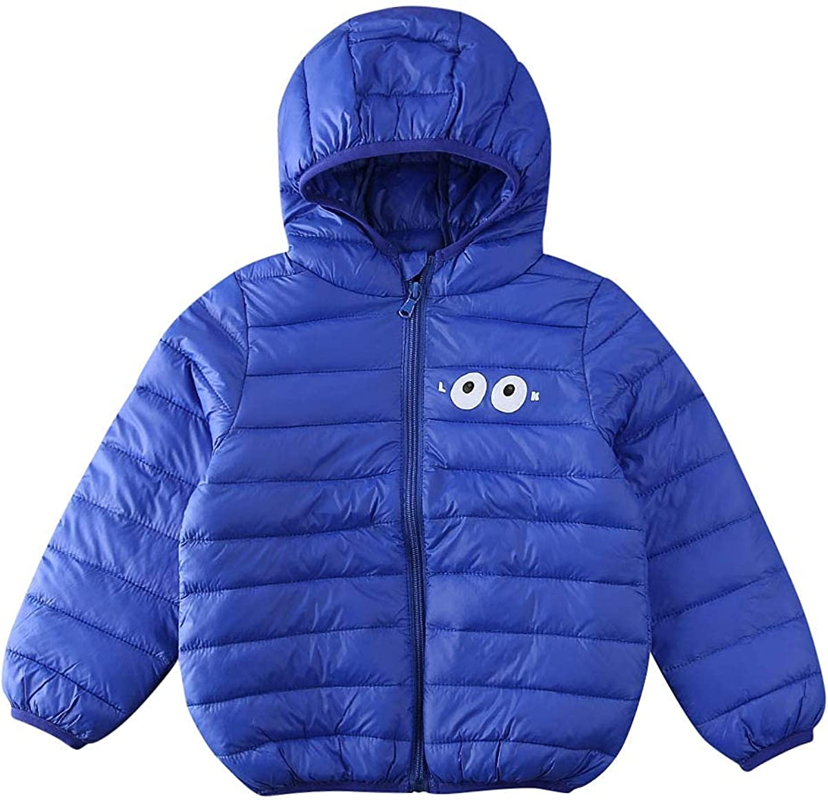 Tababobyto Kids Boy Mail order cheap Max 83% OFF Girl Hooded Coat Print L Solid Cartoon Color