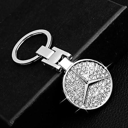 Mercedes Benz Schlüsselanhänger Typo Gla Edelstahl Schwarz Silber Koffer Rucksäcke Taschen