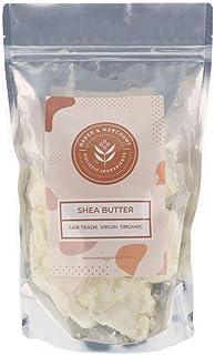 Fair Trade Certified Organic Unrefined Shea Butter (1 lb)- Perfect for DIY Skincare, Soap Making, Moisturizing Dry Skin an...