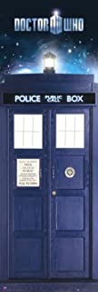 Doctor Who - TV Show Door Poster/Print (The Tardis & Time Vortex) (Dr. Who) (Size: 21 inches x 62 inches)