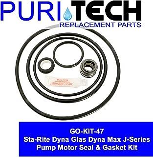 Puri Tech Pool Motor Seal & Gasket Kit GO KIT for Sta-Rite DynaGlas DynaMax J Series Pumps