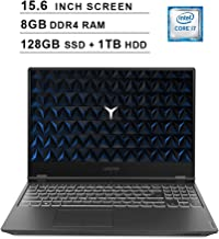 Lenovo 2019 Legion Y540 15.6 Inch FHD IPS Gaming Laptop (9th Gen Intel 6-Core i7-9750H up to 4.5 GHz, 8GB RAM, 128GB PCIe SSD + 1TB HDD, Nvidia GeForce GTX 1660 Ti, Bluetooth, WiFi, HDMI, Windows 10)