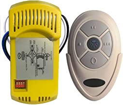 Ceiling Fan Remote Control and Receiver Complete Kit Replacement of Harbor Breeze Hampton Bay Hunter KUJCE9603 L3HFAN35T1 ...
