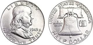 1949 P Franklin Half Dollar $.50 Brilliant Uncirculated
