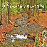 Massachusetts Wild & Scenic 2021 7 x 7 Inch Monthly Mini Wall Calendar, USA United States of America Northeast State Nature