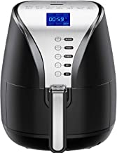 Habor IKICH Air Fryer, 4.2 Quart Oilless Hot Air Fryer(W/Cookbook) Oven Large Cooker,..