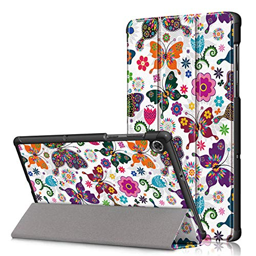 For Lenovo Tab M10 HD 2 Gen Case Tablet Coke Hard PC Magnet Cover for Lenovo M10 HD 2nd Generation Case TB-X306F X306x Fertiles-Butterfly_M10 HD 2nd TB-X306F