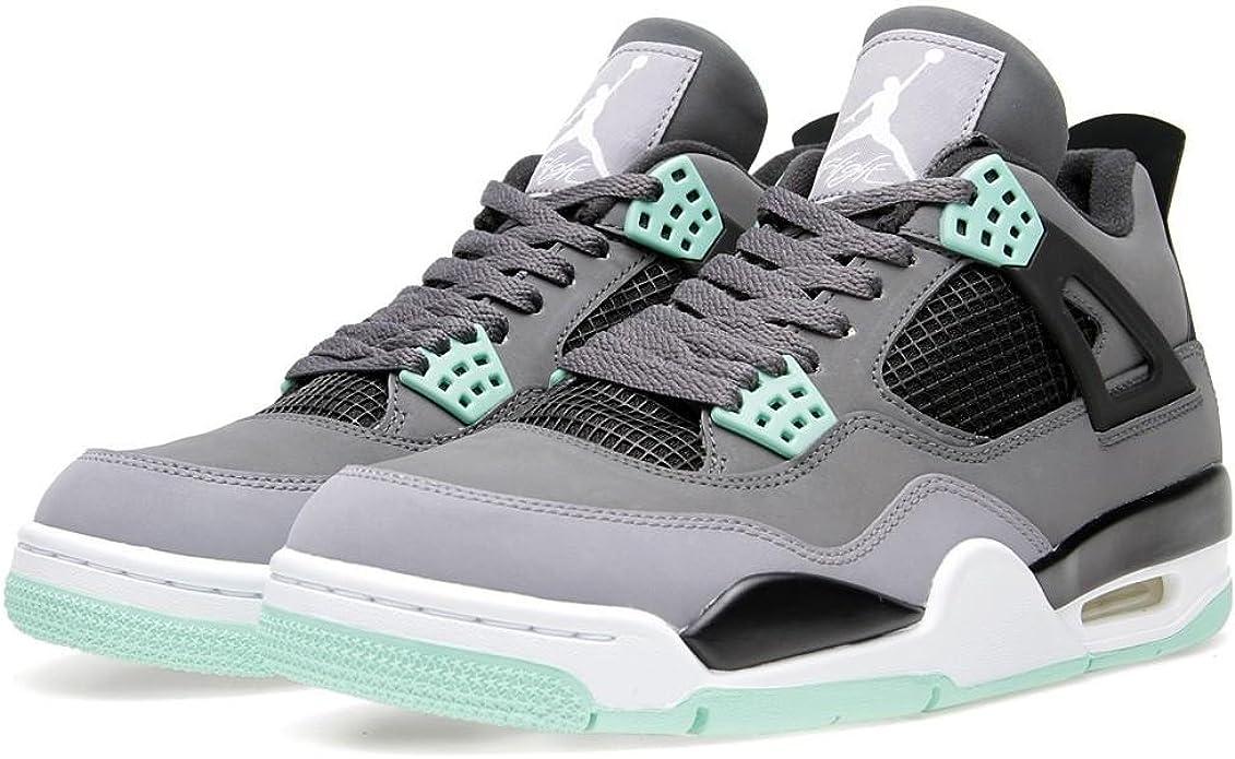 Nike AIR JORDAN 4 RETRO 'GREEN GLOW' - 308497-033 - SIZE 15 ...