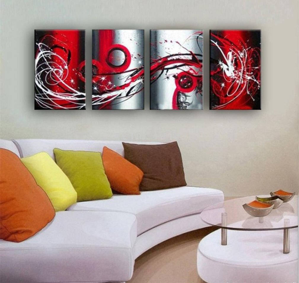 black grey red living room decor amazon comouth grey white black red passion large wall painting on canvas monder abstract oil painting art