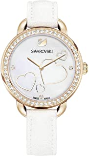 Swarovski Aila Day Heart White Ladies Watch 5242514