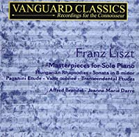 Franz liszt/ Masterpieces for Solo Piano
