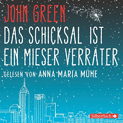 Das Schicksal ist ein mieser Verräter                   Written by:                                                                                                                                 John Green                               Narrated by:                                                                                                                                 Anna Maria Mühe                      Length: 6 hrs and 9 mins     Not rated yet     Overall 0.0