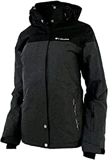 Columbia Womens Snowshoe Mauntain Insulated Jacket Black/Shark (Small)