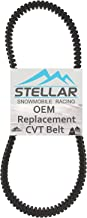 Stellar Snowmobile Racing CVT Drive Belt compatible with Polaris Fits 3211122 600 2008-2018