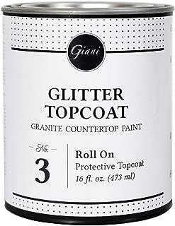 Giani Granite Paint Glitter Top Coat Step 3