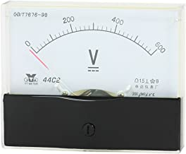 SOURCING MAP Medidor analógico voltímetro DC 0-600V rango de medición 44C2