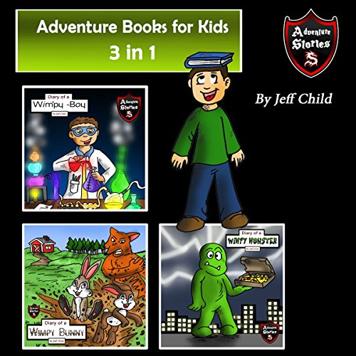 Adventure Books for Kids: 3 in 1 audiobook cover art