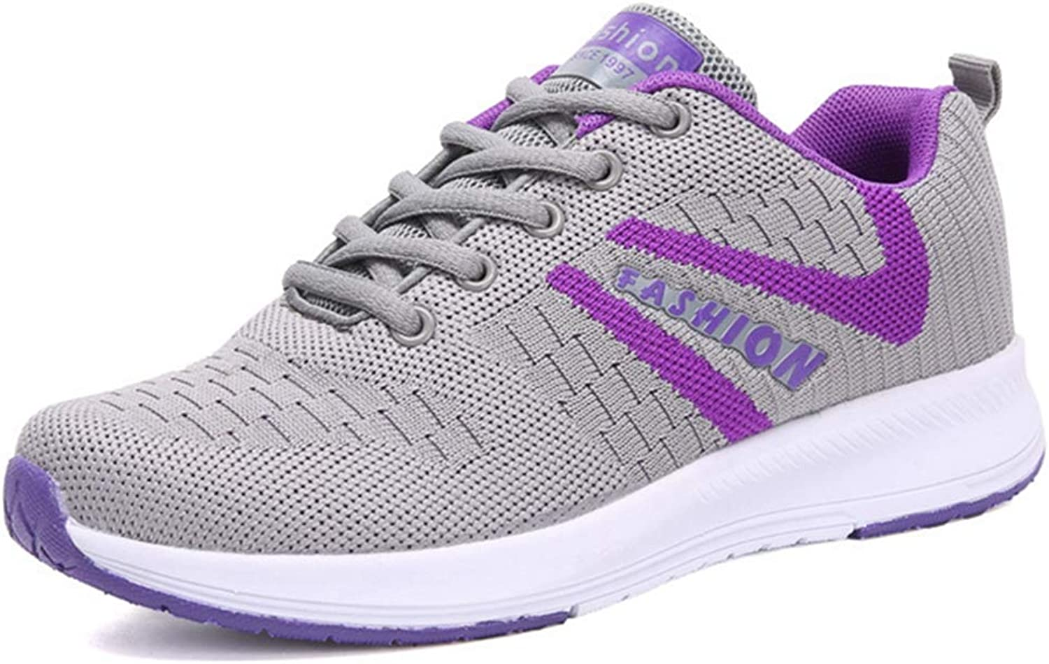 GIY Womens Fashion Sneakers Running shoes Comfort Breathable Mesh Lightweight Casual Walking shoes