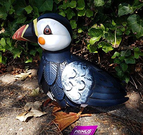 Primus PQ7516 Sculpture de jardin en métal Motif oiseaux