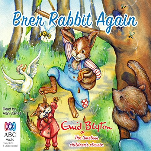 Brer Rabbit Again audiobook cover art