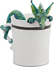 Ebros Amy Brown Sweet Addictions Good Morning Pet Dragon In Coffee Cup Statue 4