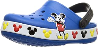 Crocs Unisex-Child 206307-4JL Kid's Disney Mickey Mouse Clog|Water Shoe for Toddlers, Boys, Girls