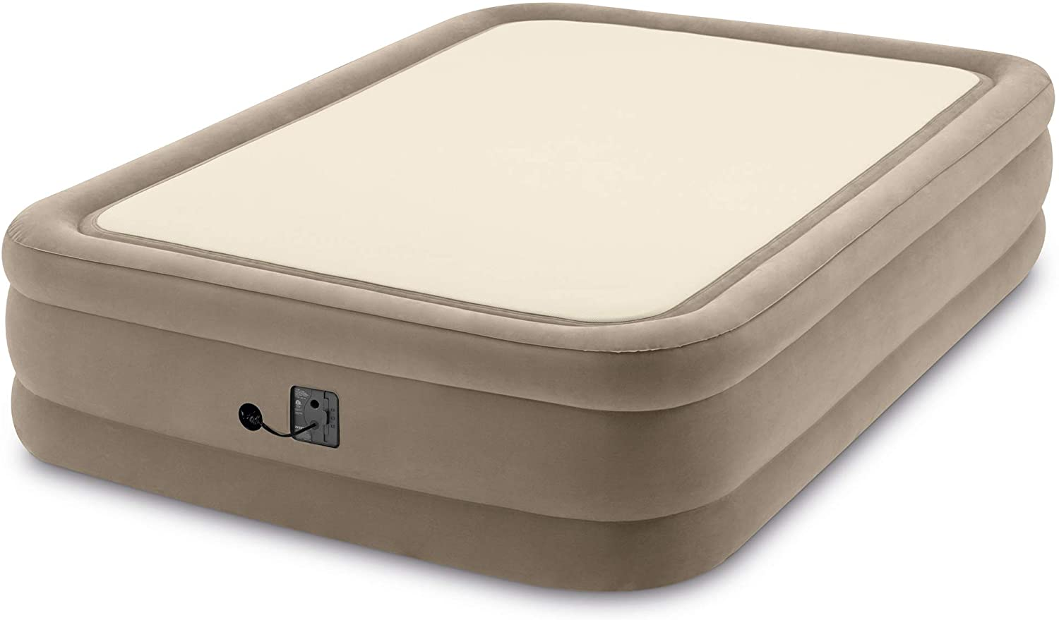Intex 64477ED Queen specialty shop Size Thermalux Techno Gifts Fiber-Tech Airbed with