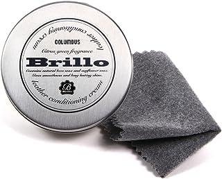 コロンブス COLUMBUS ブリオ Brillo レザーコンディショニングクリーム【クロス付き】 Brillo 無色
