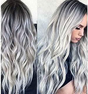 Best long grey silver wigs Reviews