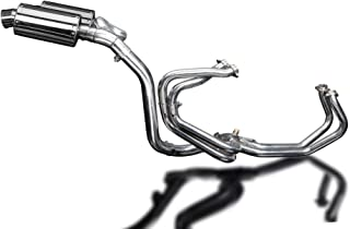 Delkevic Full 4-2 Exhaust compatible with Honda VFR800 V-Tec SS70 9